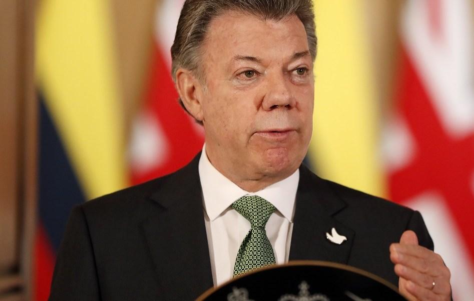 El presidente de Colombia, Juan Manuel Santos, condena el ingreso de recursos de la constructora brasileña Odebrecht a su campaña electoral de 2010 (Getty Images/archivo)