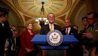 Chuck Schumer, líder demócrata en el Senado de Estados Unidos. (Reuters)