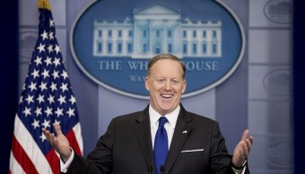 Sean Spicer, portavoz de la Casa Blanca.