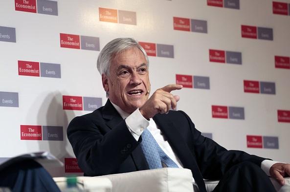 Sebastián Piñera, expresidente de Chile.
