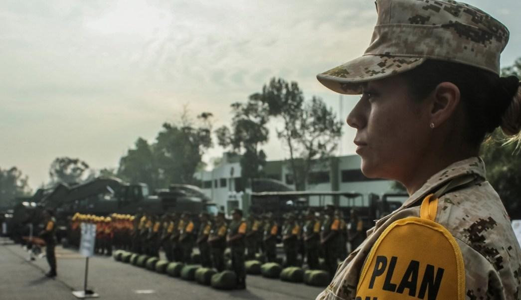 Cada vez más mujeres se integran a las Fuerzas Armadas de México.