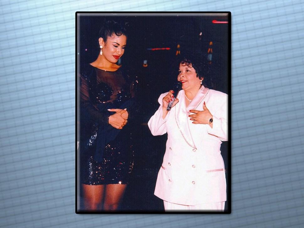 Selena Quintanilla y Yolanda Saldívar. (AP, Archivo)