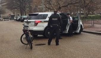 Servicio Secreto de Estados Unidos vigila alrededores de la Casa Blanca. (@SecretService)