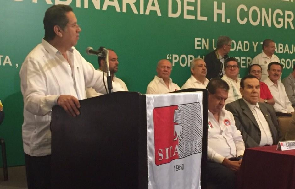 Patricio Flores Sandoval fue reelecto como secretario general del SITATyR para el periodo 2017-2023.