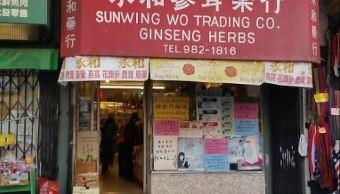Las hojas de té, compradas en la SunWing Wo Trading Company contenían toxinas de acónito, un tipo de planta. (Google Maps)