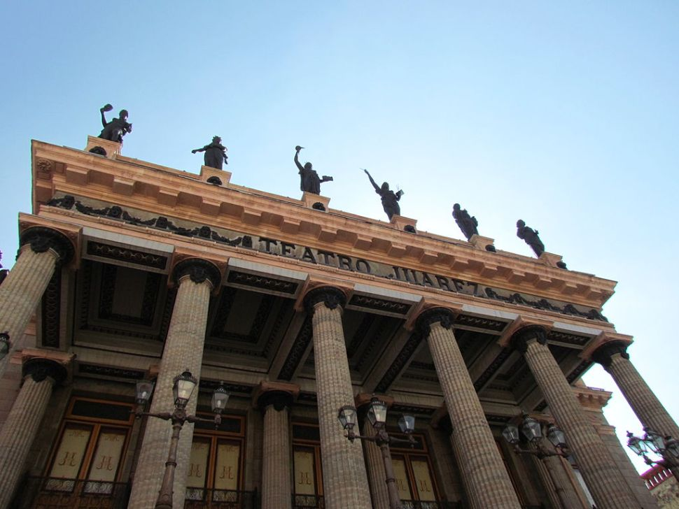 Teatro Juárez, turismo guanajuato