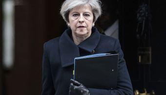 Tras el atentado en Londres, May compareció en la Cámara de los Comunes. (AP)