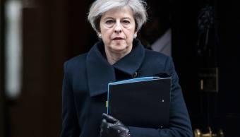 Theresa May, primera ministra del reino Unido (AP)