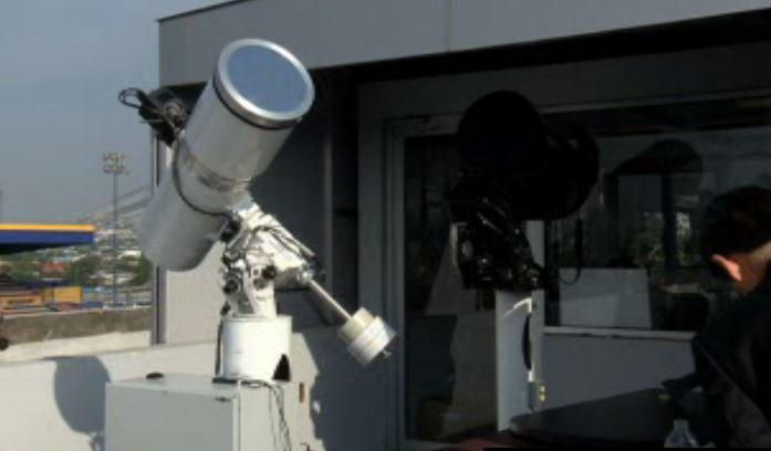 La Universidad Autónoma de Nuevo León instala observatorio para buscar basura espacial. (Noticieros Televisa)