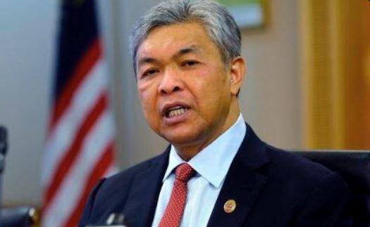El viceprimer ministro de Malasia, Ahmad Zahid Hamidi. (Twitter@DPMOMalaysia)