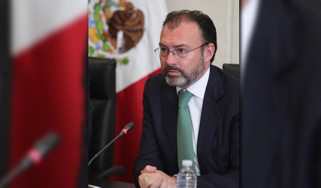 Luis Videgaray se reúne con senadores miembros de la Junta de Coordinación Política (Twitter @SRE_mx)