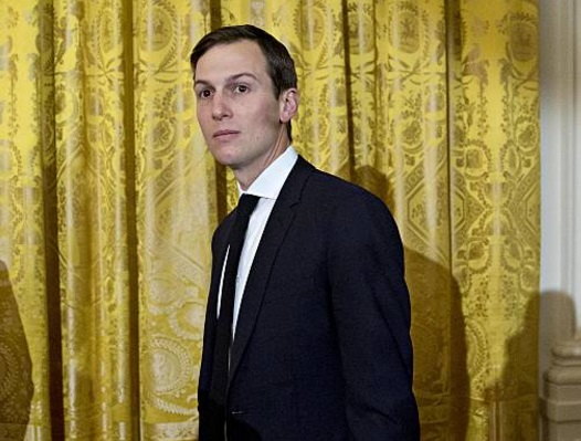 Jared Kushner, yerno del presidente Donald Trump, durante una ceremonia en la Casa Blanca (Getty Images/archivo)