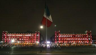 Zócalo de la Ciudad de México. (Twitter: @GobCDMX)