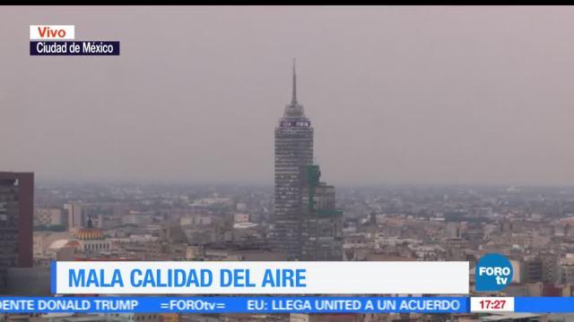 Mala calidad del aire en el Valle de México