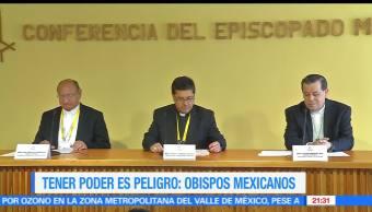Tener, Poder, Peligro, Obispos mexicanos, Corrupción, Religión
