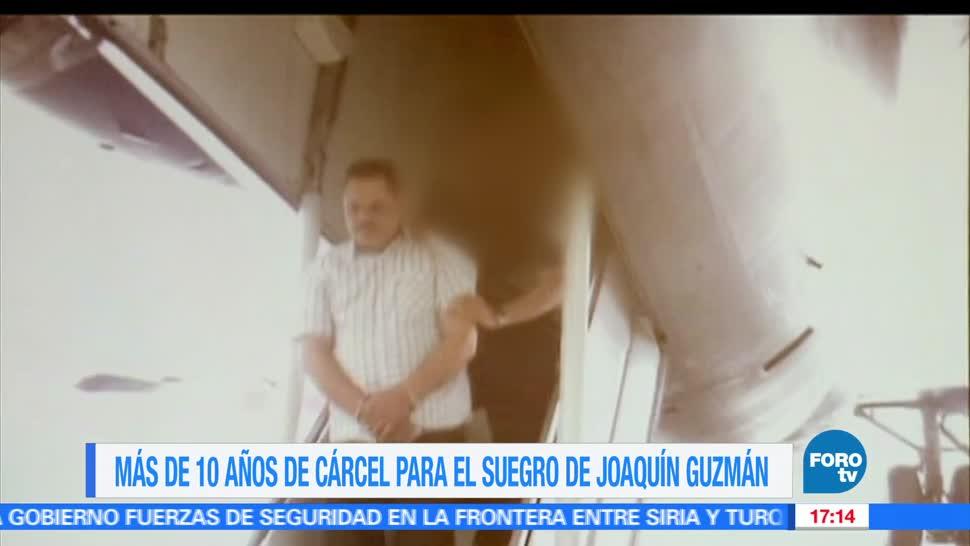 FOROtv, Televisa News, sentencian, suegro, el chapo, narcotrafico,