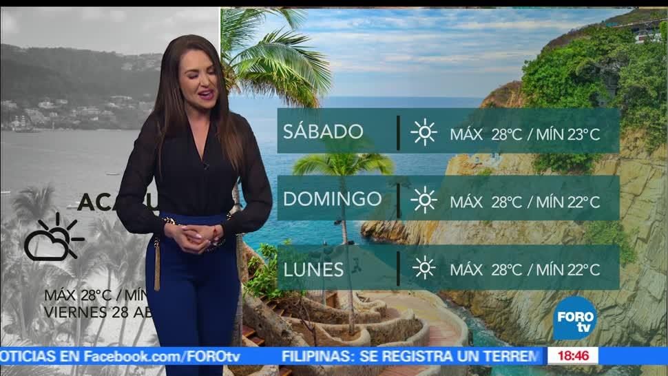 FOROtv, Televisa News, clima, mayte carranco, el clima, calor