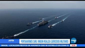 Portaaviones, Estados Unidos, Aguas, Mar de Japón, Conflictos armados, Misiles