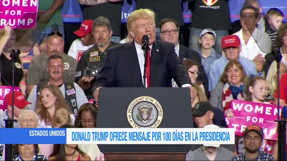 Casa Blanca, Mensaje, Discurso, Pensilvania, Trump, EU
