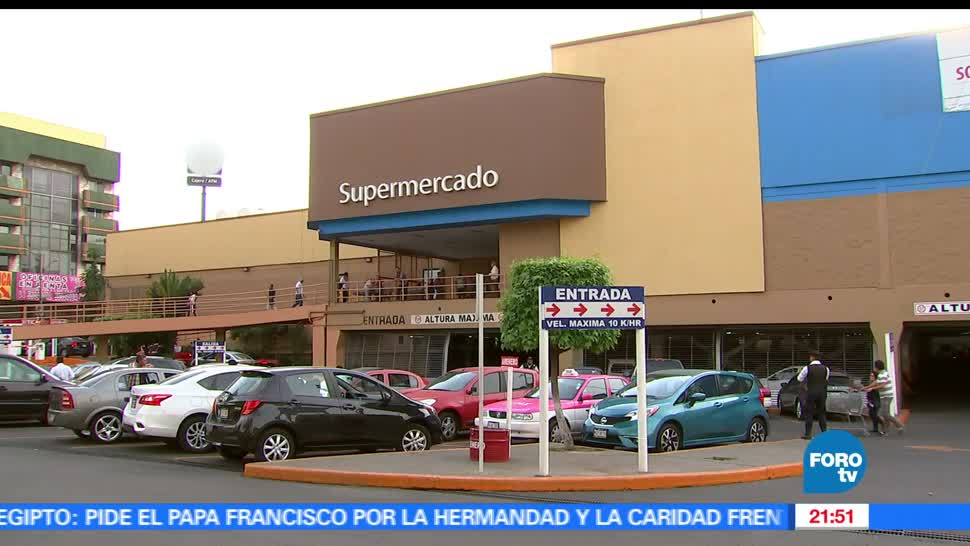 Video, Robo, Asalto, Walmart, Tlalpan, Nativitas