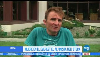 maquina suiza, Ueli Steck, everest, monte