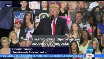 Trump, EU, 100 dias, Presidencia de estados unidos