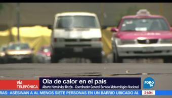 Sistema, Alta presión, Altas Temperaturas, País, Alberto Hernández Unzón, Conagua