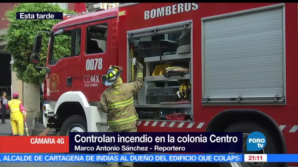 Equipo de bombero, Ciudad de México, Incendio, Hotel, Centro histórico, CDMX