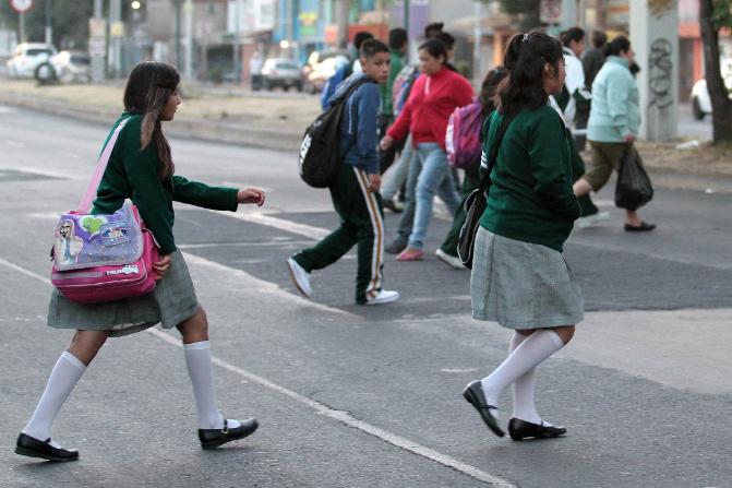 Alumnos de Educación Básica en México. (Notimex/Archivo)