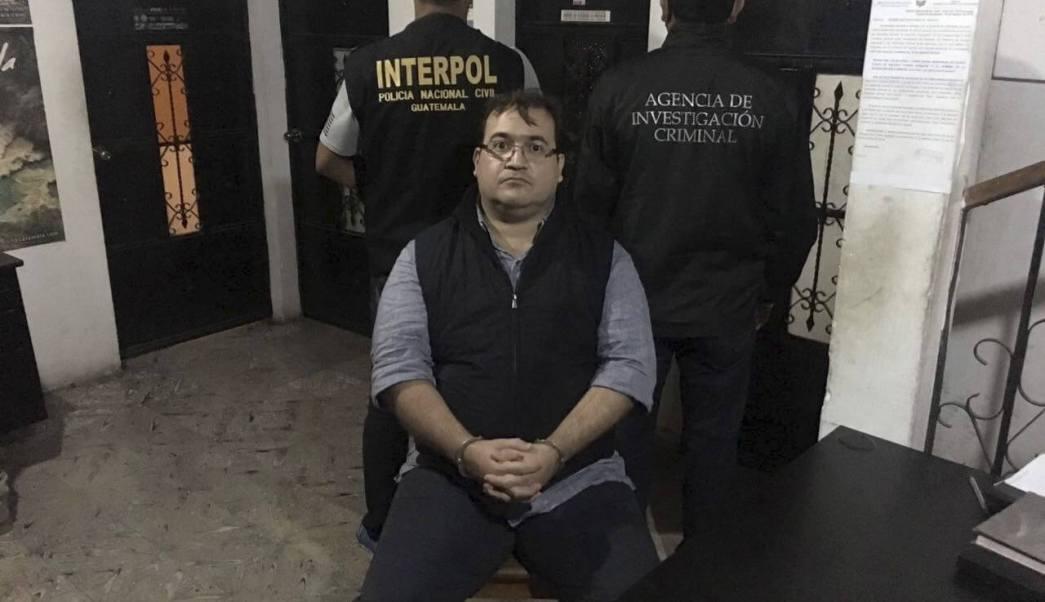 Javier Duarte, ex gobernador de Veracruz. (EFE, archivo)