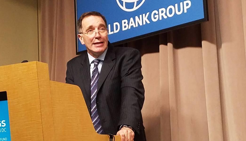 Carlos Végh, jefe del Banco para América Latina y el Caribe. (Notimex)