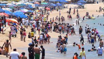 Acapulco, Guerrero, Turistas, Vacaciones, Puente, Mar