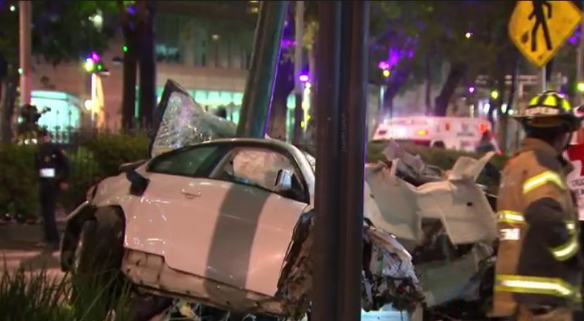 PGJ buscará que el conductor del BMW que chocó en Reforma permanezca ...