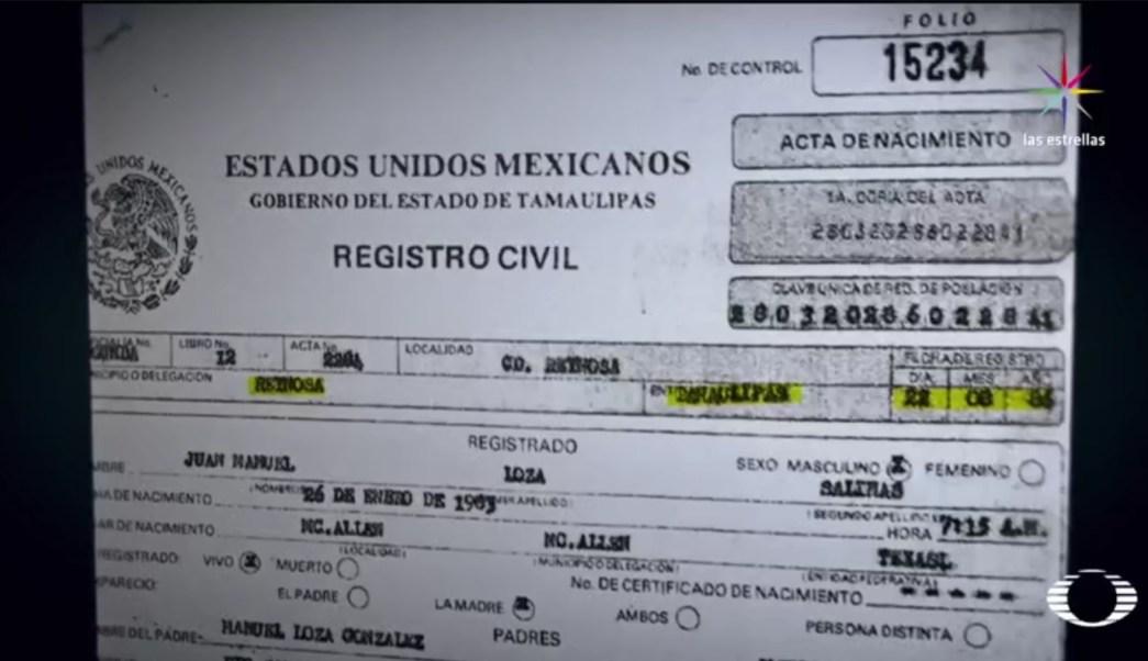 'El Comandante Toro' fue registrado en Reynosa, Tamaulipas, en 1983. (Noticieros Televisa)