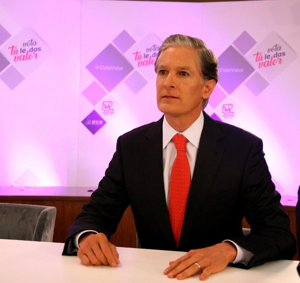 Alfredo del Mazo, candidato del PRI a la gubernatura del Estado de México. (Notimex)