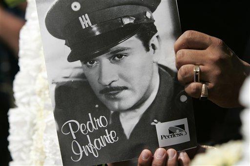Al cumplirse 60 años de su muerte, el 15 de abril será declarado el día de Pedro Infante, considerado como inmortal por su obra. (Getty Images, archivo)