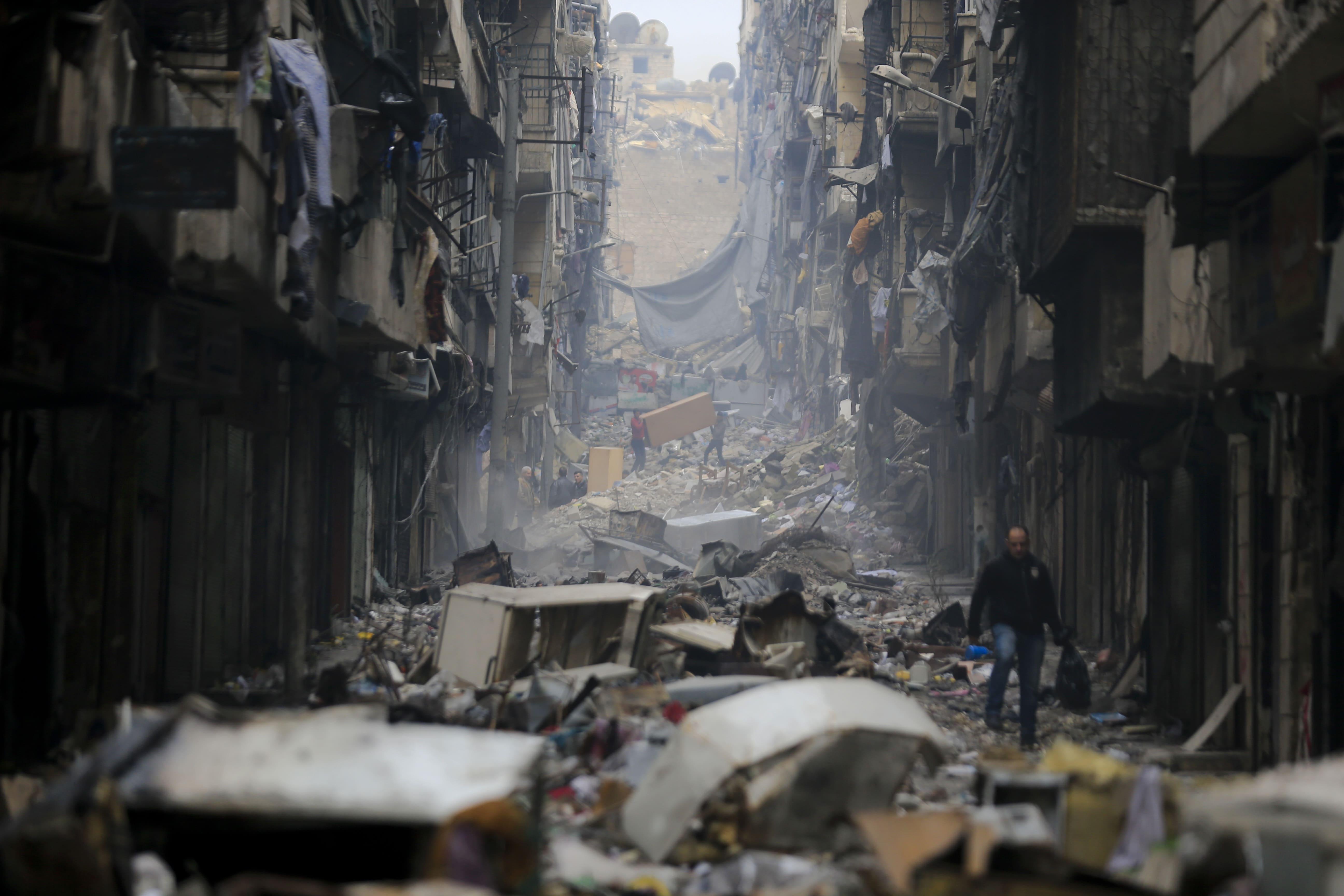 Alepo guerra Siria Trump