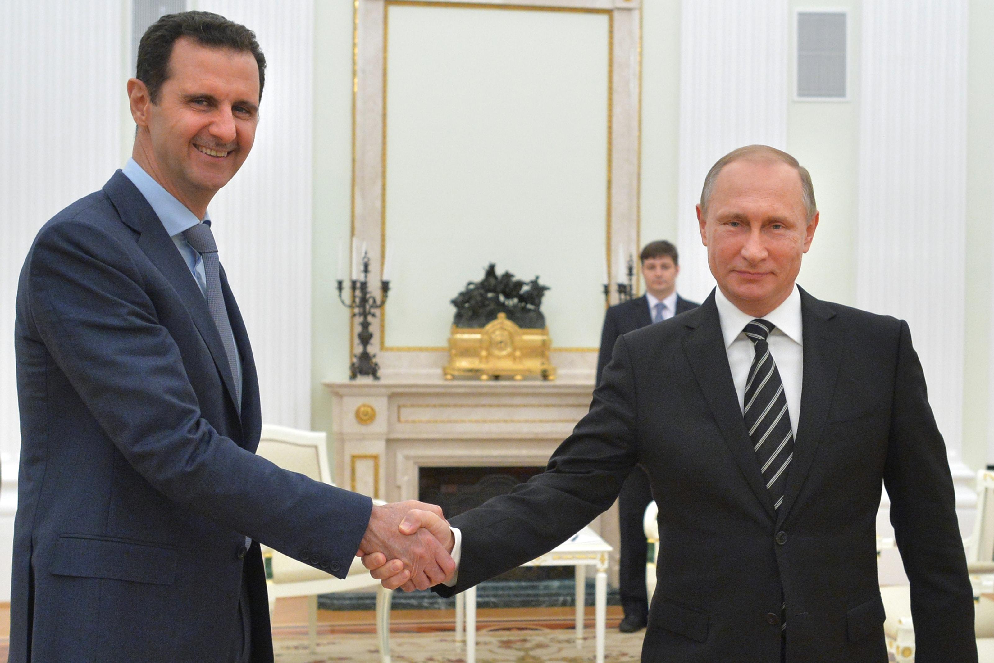Putin Assad Trump