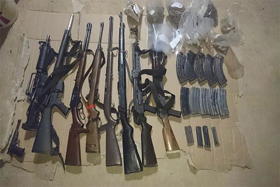 Aseguran armamento en Guerrero, heroína y goma de opio. (Grupo de Coordinación Guerrero)
