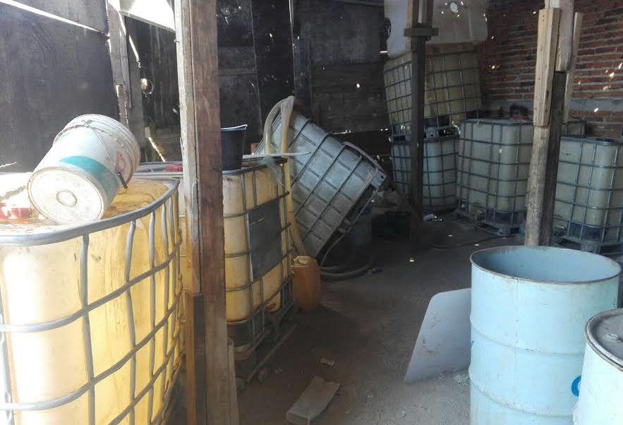 No hay detenidos tras el decomiso de combustible. (Noticieros Televisa)