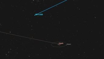 Asteroide 2014 JO25 pasará muy cerca de la tierra el 19 de abril. (NASA)