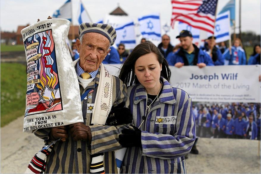 Resultado de imagen para fotos de la marcha por el holocausto