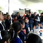 Autoridades de Puebla realizan jornada cívica