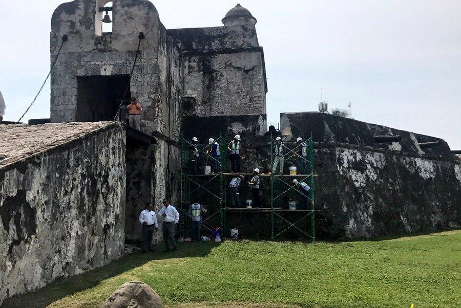 Baluarte de Santiago en Veracruz, será rehabilitado