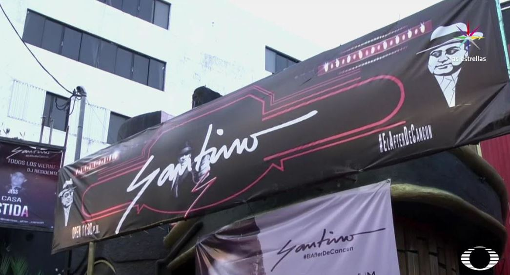 Bar Santino de Cancún, Quintana Roo. (Noticieros Televisa)