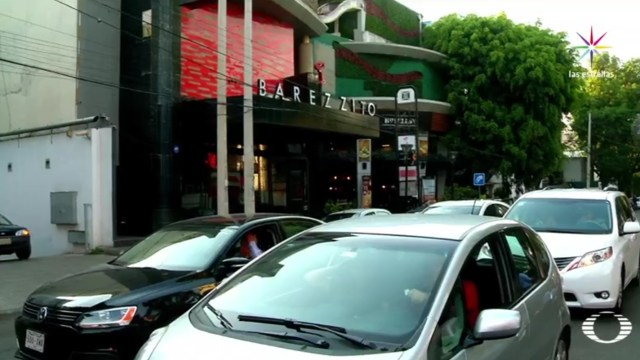 El abobado deslindó también al servicio de valet parking. (Noticieros Televisa)