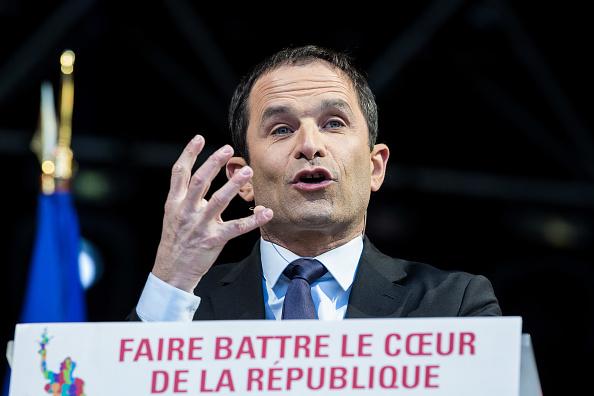 Benoit Hamon. (Getty Images)
