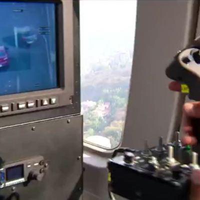 Equipo Cóndores de la Policía CDMX estrena cámara de alta tecnología