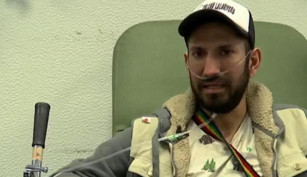 Eduardo Cárdenas enfrenta el cáncer de pulmón con valentía. Su inspiración son sus hijos y su esposa. (Noticieros Televisa)