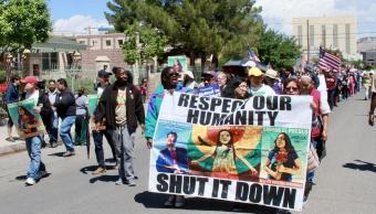 Caravana, Miedo, Protesta, Muro, Texas